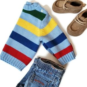 The Childrens Place Boys 3-6M Striped Knit Sweater